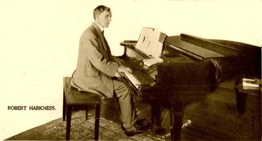 harkness at piano
